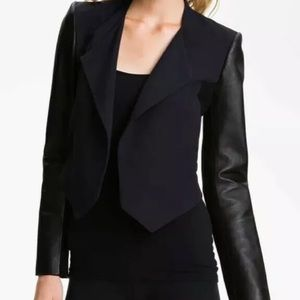 Theory Cohen Pax cropped jacket